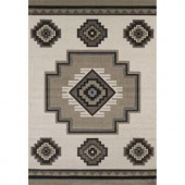 United Weavers Mountain Cream 5 ft. 3 in. x 7 ft. 6 in. Area Rug