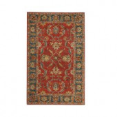 Home Decorators Collection Aristocrat Rust Red 6 ft. x 9 ft. Area Rug
