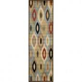 Nourison Prestige Pre11 Multicolor 2 ft. 3 in. x 7 ft. 6 in. Runner