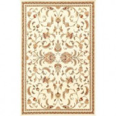 Natco Annora Ivory 5 ft. x 7 ft. 6 in. Area Rug