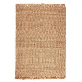 Home Decorators Collection Braided Jute Natural 3 ft. x 5 ft. Area Rug