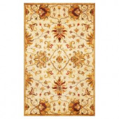 Kas Rugs Touch of Agra Champagne 5 ft. x 8 ft. Area Rug