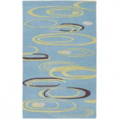 Artistic Weavers Patterson Spa Blue 8 ft. x 11 ft. Area Rug