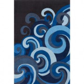Momeni Young Buck Collection Surf 3 ft. x 5 ft. Area Rug