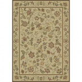 Shaw Living Alex Beige 5 ft. 3 in. x 7 ft. 10 in. Area Rug