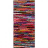 Safavieh Nantucket Pink/Multi 2.3 ft. x 5 ft. Runner
