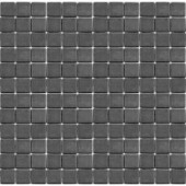 EPOCH Teaz Earl Grey-1202 Mosiac Recycled Glass Mesh Mounted Floor & Wall Tile - 4 in. x 4 in. Tile Sample