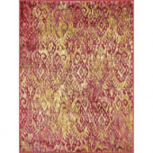 Loloi Rugs Lyon Lifestyle Collection Poinsettia 3 ft. 9 in. x 5 ft. 2 in. Area Rug