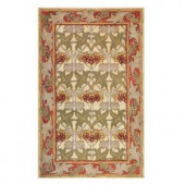 Home Decorators Collection CorIna Gold and Red 2 ft. x 3 ft. Accent Rug