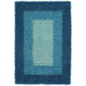 Chandra Paramera Blue 7 ft. 9 in. x 10 ft. 6 in. Indoor Area Rug