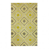 Home Decorators Collection Insignia Green 2 ft. x 3 ft. Area Rug